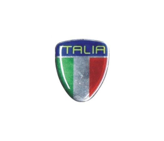 ADESIVO PARA Fiat 500, Punto, Linea - ESCUDO ITÁLIA