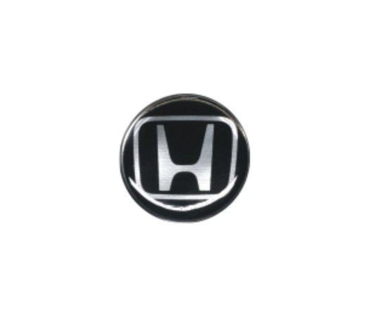 ADESIVO DE CALOTA Linha Honda - HONDA PRETO