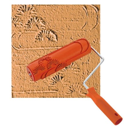 Rolo para Textura Roma Sol Nascente Emborrachado 18 cm