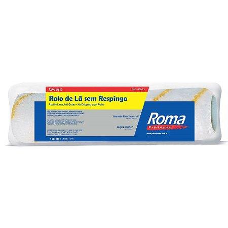 ROLO DE LÃ ROMA SEM RESPINGO 23 cm SEM CABO