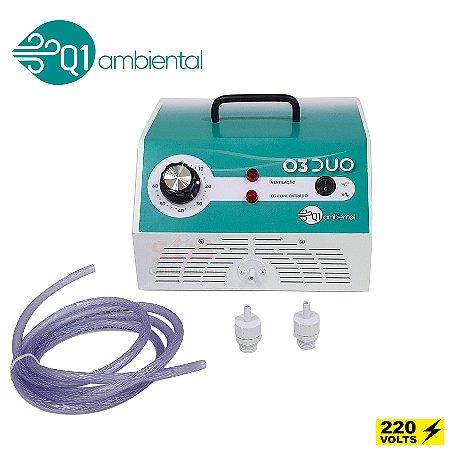 Ozônio para Sanitização de Ambientes e Objetos - Concentrado 2 em 1 - O3 Duo
