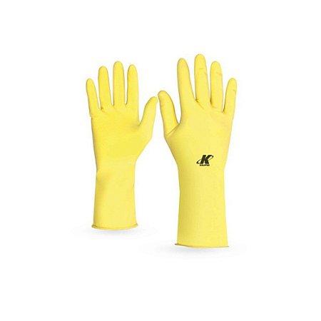 Luva De Segurança Látex Amarela GG PAR