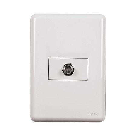 Conector de Antena - Embutir - Perlex