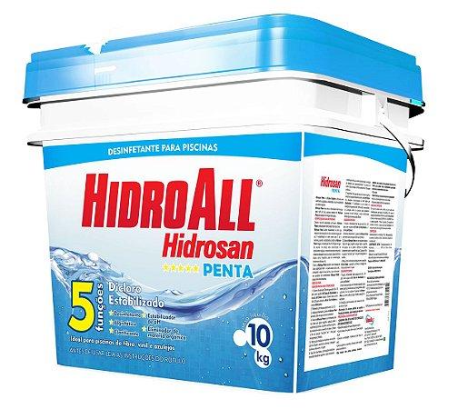 Cloro Granulado - Hidrosan Penta - 10 KG
