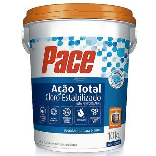 Cloro Granulado - Pace - 7 em 1- HTH - 10 Kg