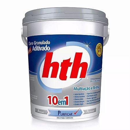 Cloro granulado - 10 em 1 - HTH - 10kg