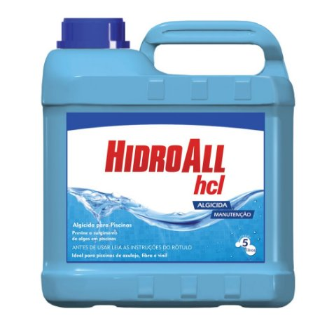 Algicida de Manutenção - HCL - Hidroall - 5 L