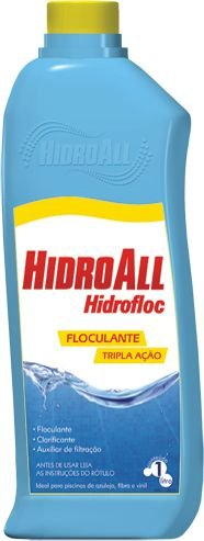 Floculante - Clarificante - Hidrofloc - Hidroall - 1 L