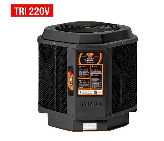 Trocador de Calor - Nautilus - Aquahot  - Black Edition -  AA-85 - Tri 220v