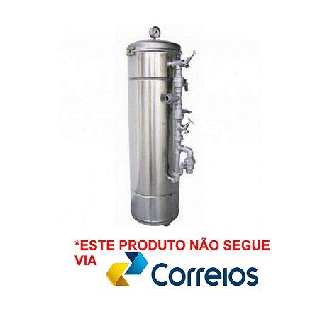 Filtros de Água Potável - Filtro Central - Aço Inox 304 - Pirafiltro - FCI 1000