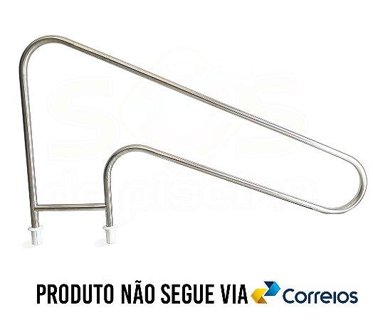 Corrimão para Piscinas - Aço Inox 304 - 1 1/2 - ESPANHA