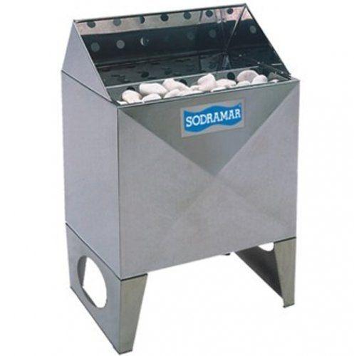 Sauna Seca - Forno Elétrico para Ambiente Até 15 M³- 7,5 Kw - Sodramar