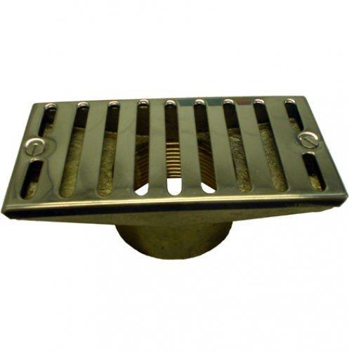 Ralo Quebra Ondas RetAngular - Metalico - 1 1/2 - 50 mm para Alvenaria - Nautilus