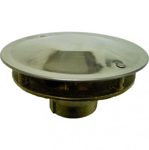 Dreno de Fundo Antiturbilhão - Metalico - de 1 1/2 - 50 mm para Alvenaria - Nautilus