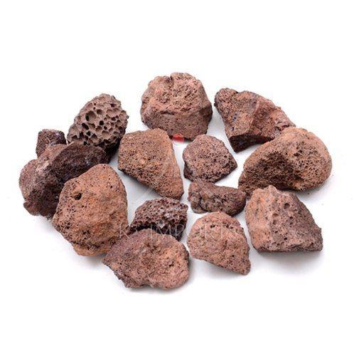 Pedras Vulcânicas Marrom - 2 Kg