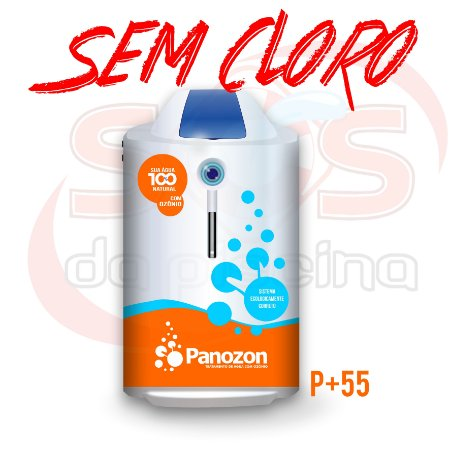 Ozônio - Panozon P+55 para Piscinas até 55000 litros - Residencial