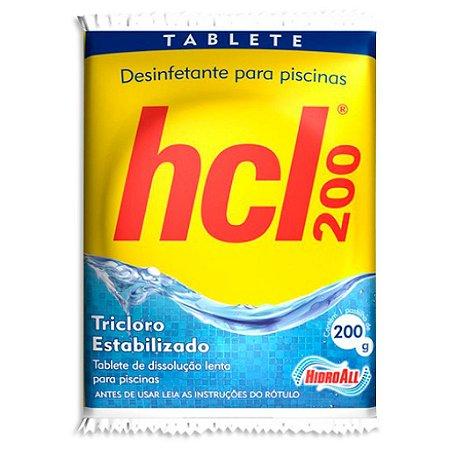 Pastilha de Cloro - HCL TAB - Tricloro Estabilizado - 200 g