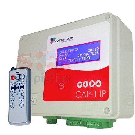 Controlador Automatizador de Piscina - CAP 1 - 3 Saídas Auxiliares