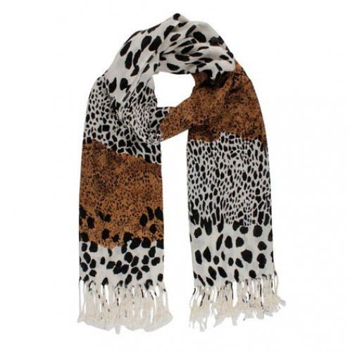 Pashmina - Xale - Estampa Animal - 70 X 170 cm -14016