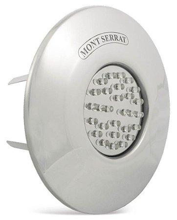 Refletor em Inox - MCR 4 - Monocromático - Branco para Nicho ABS e Cobre Americano