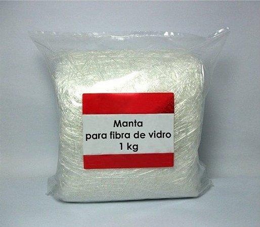 Manta para Fibra de Vidro - 1 Kg