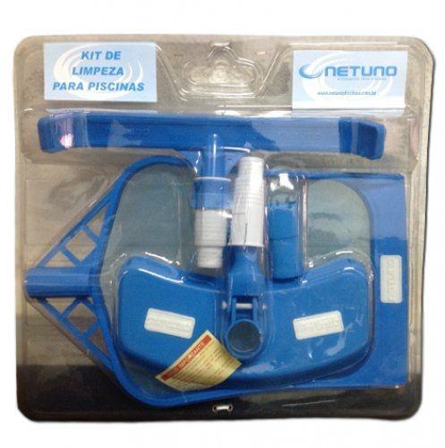 Kit de Manutenção para Piscinas - Netuno - Kit de Limpeza
