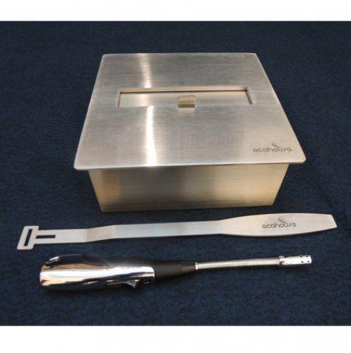 Lareira Ecológica - Álcool Etanol - Queimador Fubo 10 - 20,5 cm