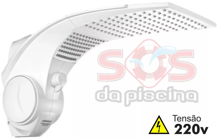 DUCHA - LORENZETTI DUO SHOWER MULTI TEMPERATURA - QUADRADA - 220V - 7500W