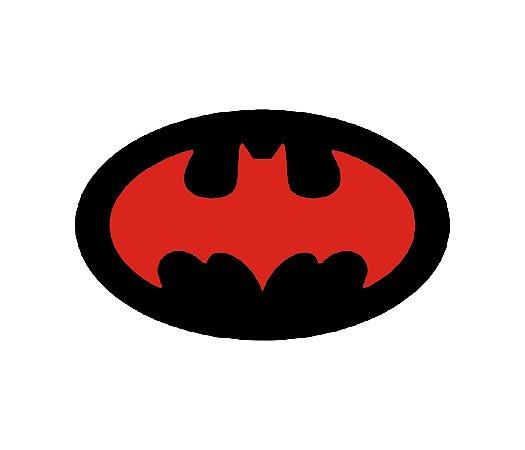 Adesivo Para Todos os Veículos - Homem Morcego - 8 x 5,1 Cm