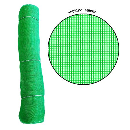 Tela Mosquiteiro Verde 50% Polietileno  1,50 x 40 metros lineares