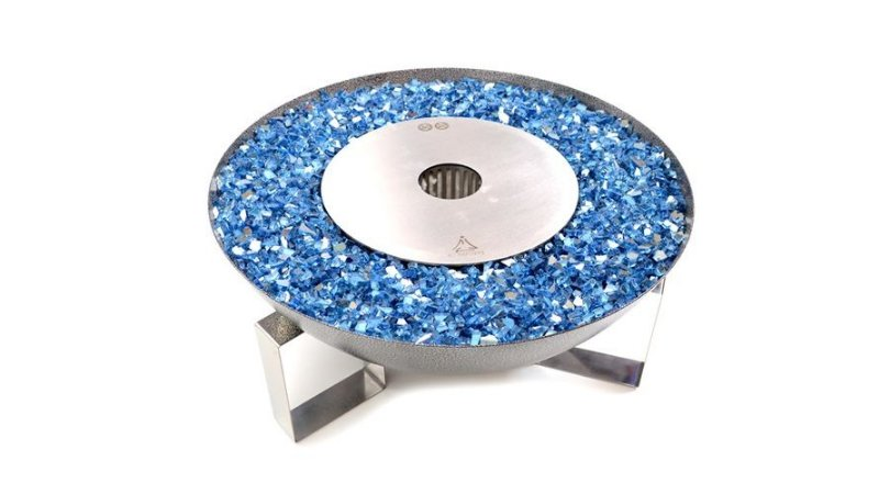 Tocha - 59 cm - Cristais Azul Calvert