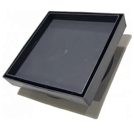 Ralo Oculto 15x15 Seca Piso - Cinza escuro
