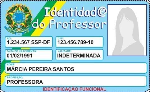 Identidade Funcional do Professor
