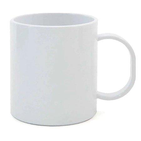 Caneca de Polímero Branca