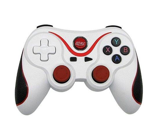Controle Gamepad Bluetooth Sem Fio para Jogos Compatível Live Multimidia