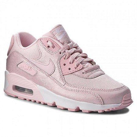 tênis nike air max 90 edição especial feminino rosa