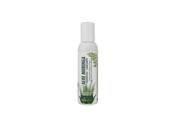 Aloe Moringa Shampoo Sabonete Livealoe 120ml