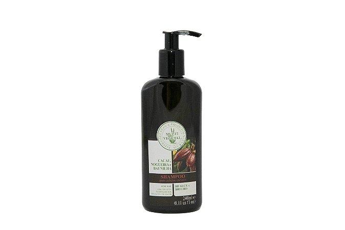 Shampoo Nogueira Cabelos Escuras Multi Vegetal 240ml