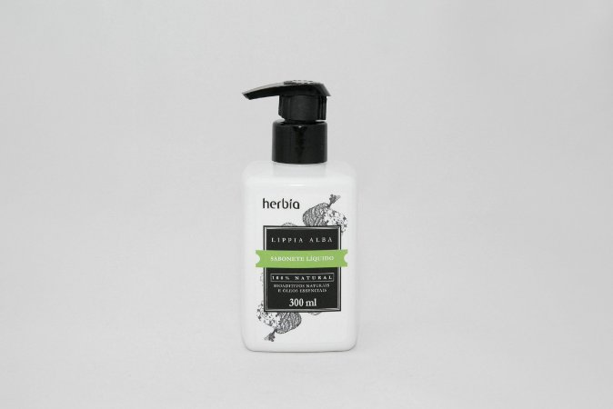 Sabonete Líquida Lippia Alba Herbia 300ml