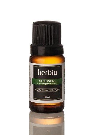 Óleo Essencial de Citronela Herbia 10ml