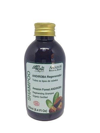 Shampoo Andiroba Orgânico Regenerador Arte dos Aromas 250ml