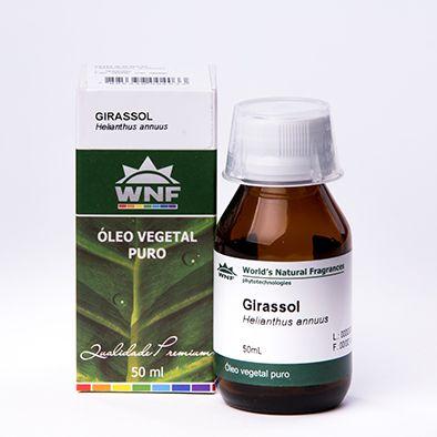 Óleo Vegetal de Girassol WNF 50ml