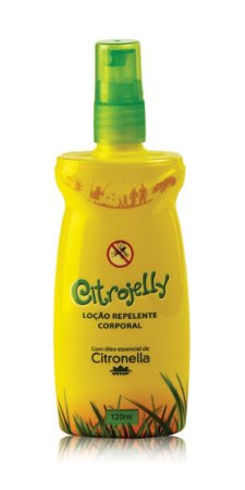 Loção Repelente Corporal Citrojelly 120ml