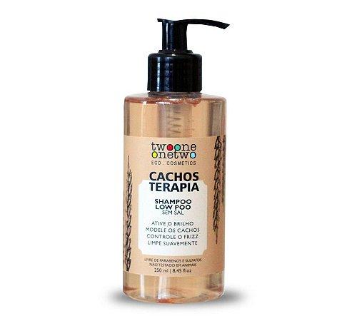 Shampoo Cacho Terapia Chia e Linhaça Vegano Twoone Onetwo 250ml