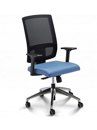 Cadeira Presidente Giratória Brizza Plaxmetal