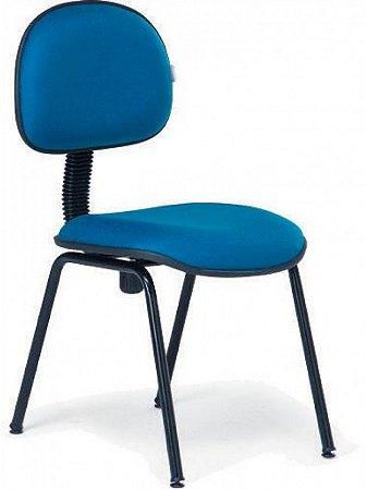 Cadeira Secretária Fixa com Espuma Injetada