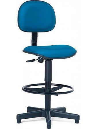Cadeira Secretária Confeccionada com Caixa e Back-System