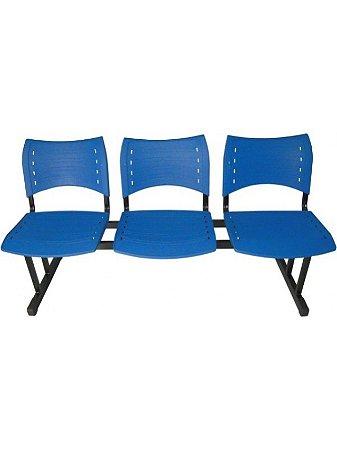 Cadeira Longarina com 3 Lugares Iso