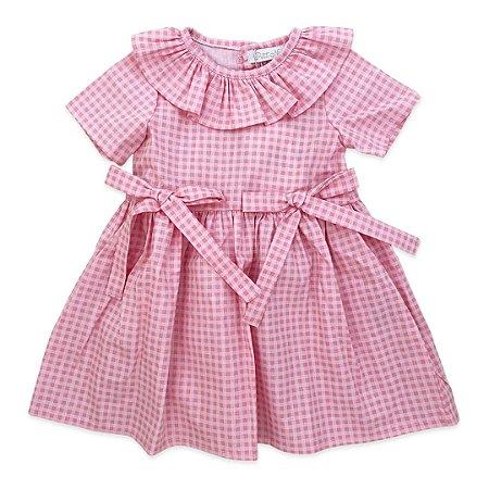 Vestido Infantil 2 Laços Rosa