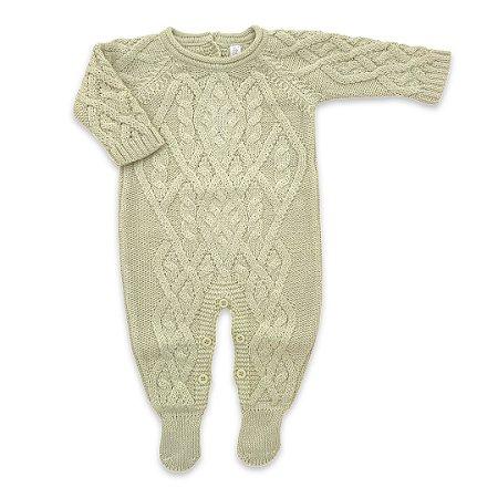 Macacão Saída de Maternidade Oslo Verde